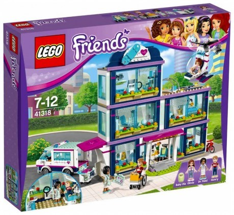 Nouveau LEGO Friends 41318 Heartlake Hospital Juin 2017