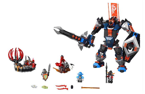 LEGO Nexo Knights 70326 The Black Knight Mech