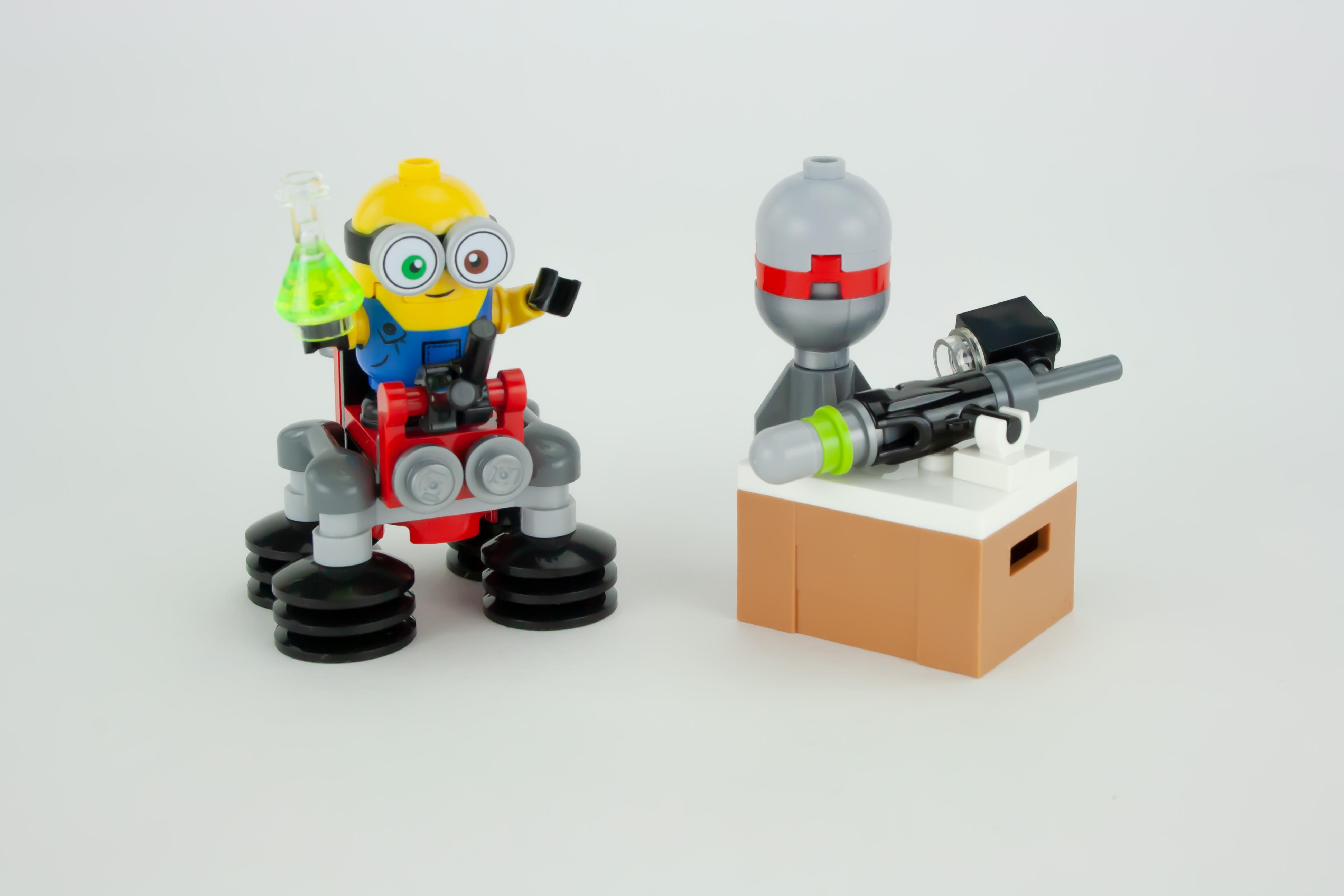 LEGO Minions 30387 : Bob et ses bras robot (Polybag) offert dès 40€ d'achat