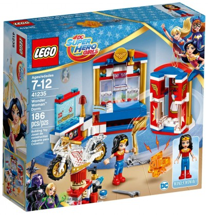 Nouveau LEGO DC Super Hero Girls 41235 Wonder Woman Dorm 2017
