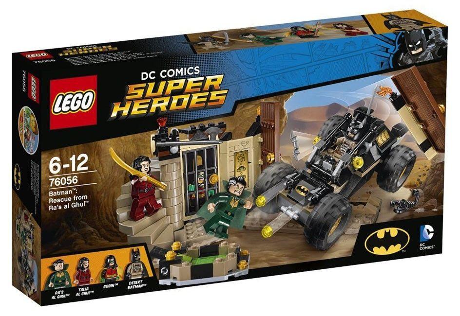 LEGO DC Comics 76056 - Rescue from Ra's Al Ghul - Photo 1