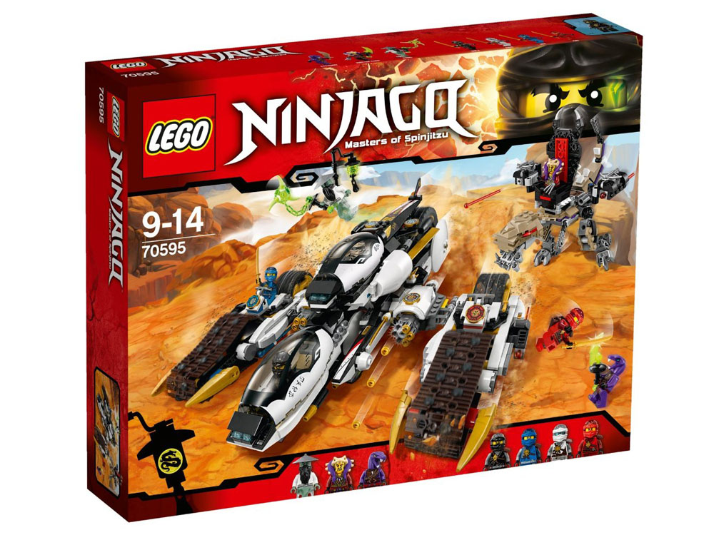 LEGO Ninjago 70595 - Ultra Stealth Raider - Photo 1