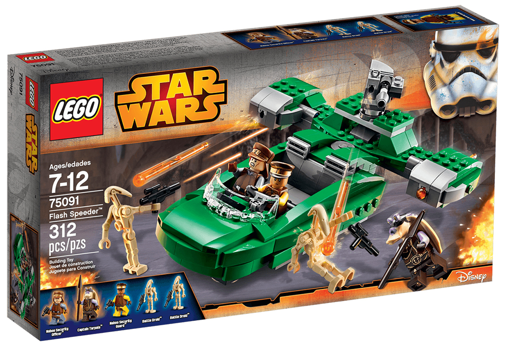LEGO Star Wars 75091 - Flash Speeder