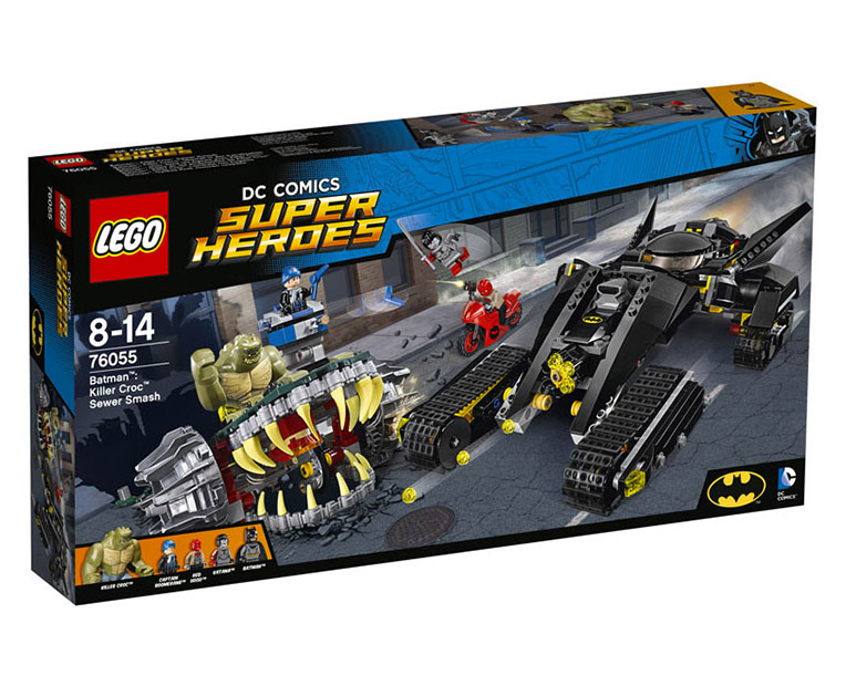 LEGO DC Comics Super Heroes 76055 - Batman: Killer Croc Sewer Smash - Photo 1