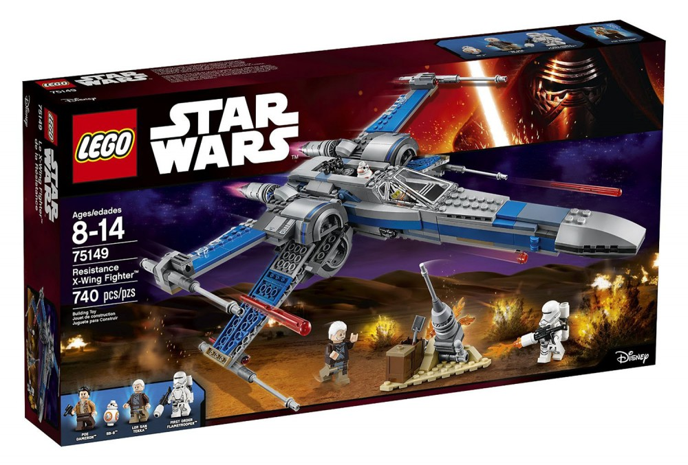 LEGO Star Wars Star Resistance X-Wing Fighter - 75149 - Photo 1