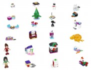LEGO Friends 41131 - Le calendrier de l'Avent LEGO Friends 2016