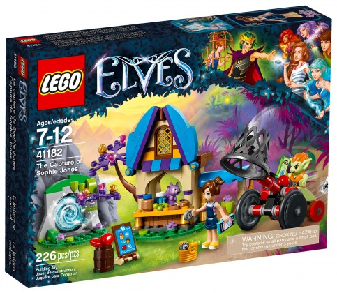 Nouveau LEGO Elves 41182 La capture de Sophie Jones 2017