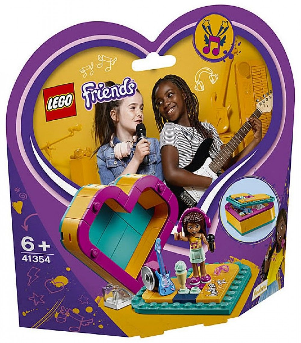 Nouveau LEGO Friends 41354 Andrea's Heart Box 2019