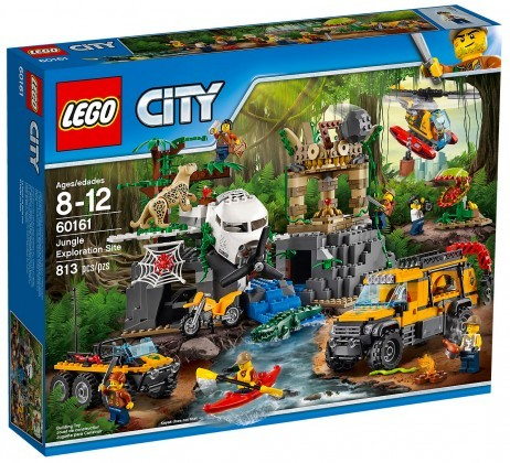 Nouveau LEGO City 60161 Le site d'exploration de la jungle Juin 2017