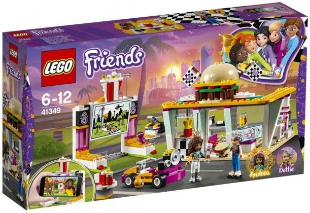 Nouveau LEGO Friends 41349 Drifting Diner 2018