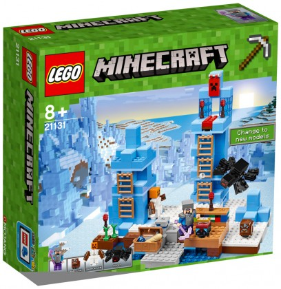 Nouveau LEGO Minecraft 21131 The Ice Spikes 2017
