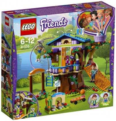 Nouveau LEGO Friends 41335 Mia's Tree House 2018