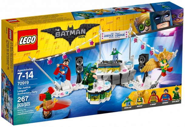 Nouveau LEGO The Batman Movie 70919 L'anniversaire de la Ligue des Justiciers 2018