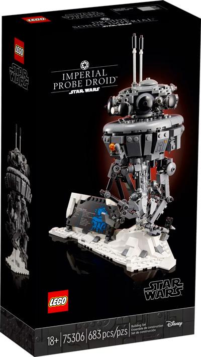 Nouveau LEGO Star Wars 75306 Droïde sonde impérial // Mai 2021