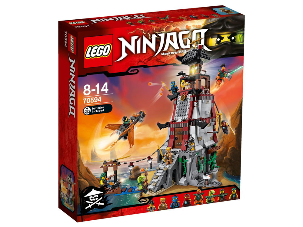 LEGO Ninjago 70594 - The Lighthouse Siege - Photo 1