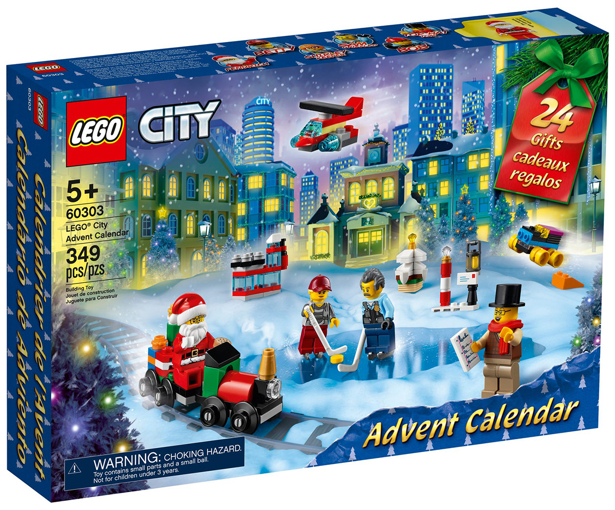 LEGO 60303 Le calendrier de l'Avent LEGO City 2021 // Septembre 2021