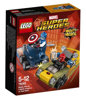 LEGO Marvel Super Heroes Capitaine America contre Crâne rouge