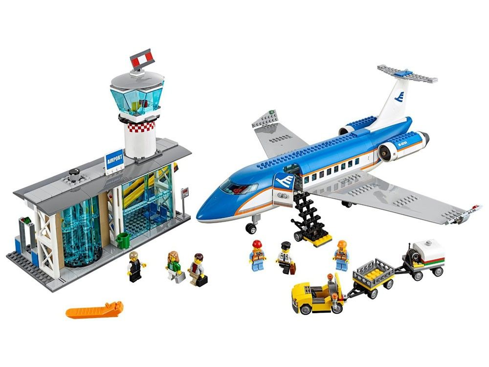 LEGO City: 60104 - Airport Passenger Terminal - Photo 3