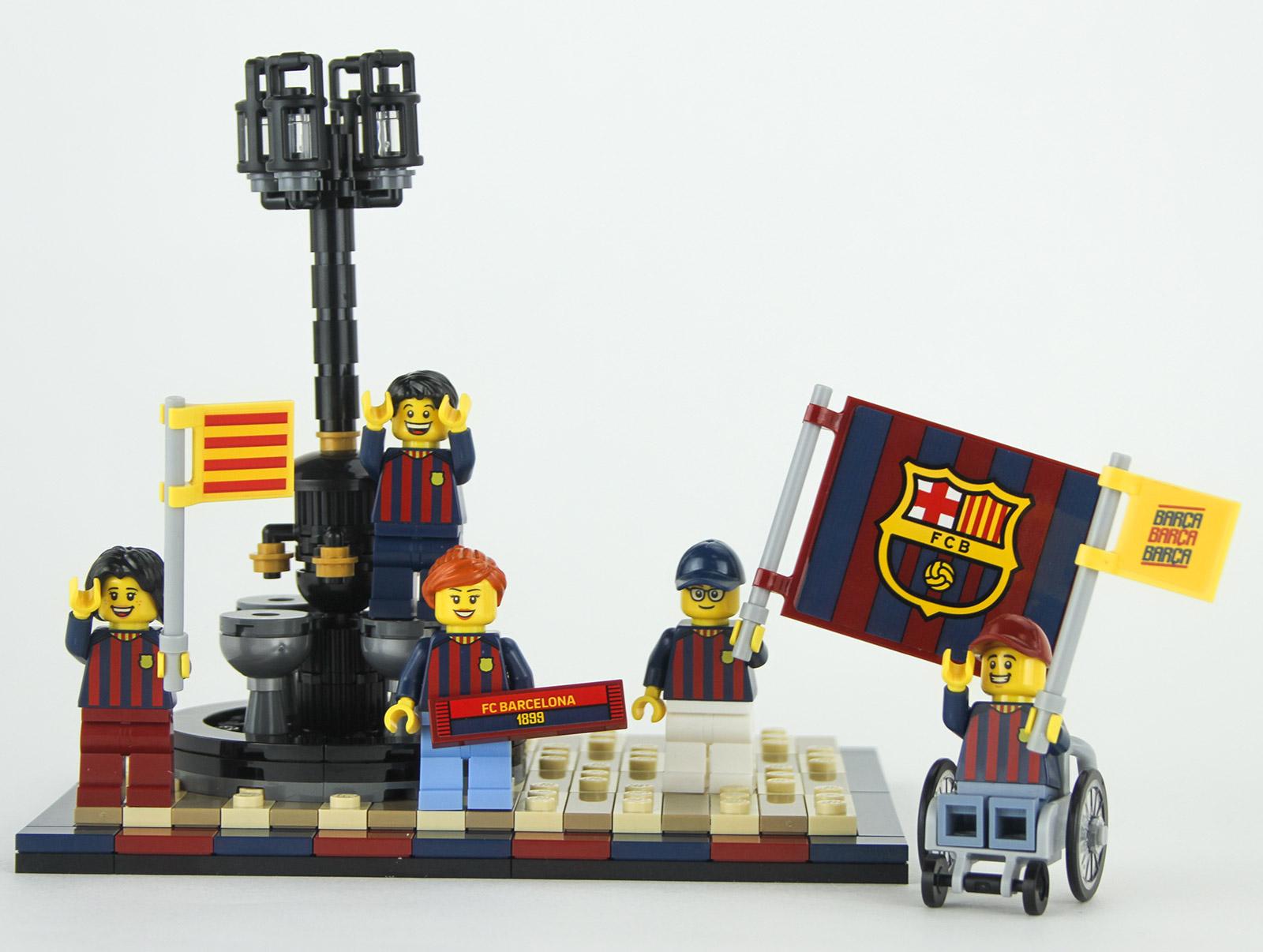 Nouveau LEGO 40485 Hommage au FC Barcelone // Septembre 2021