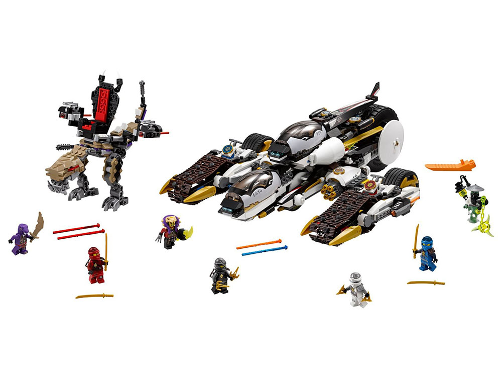 LEGO Ninjago 70595 - Ultra Stealth Raider - Photo 3