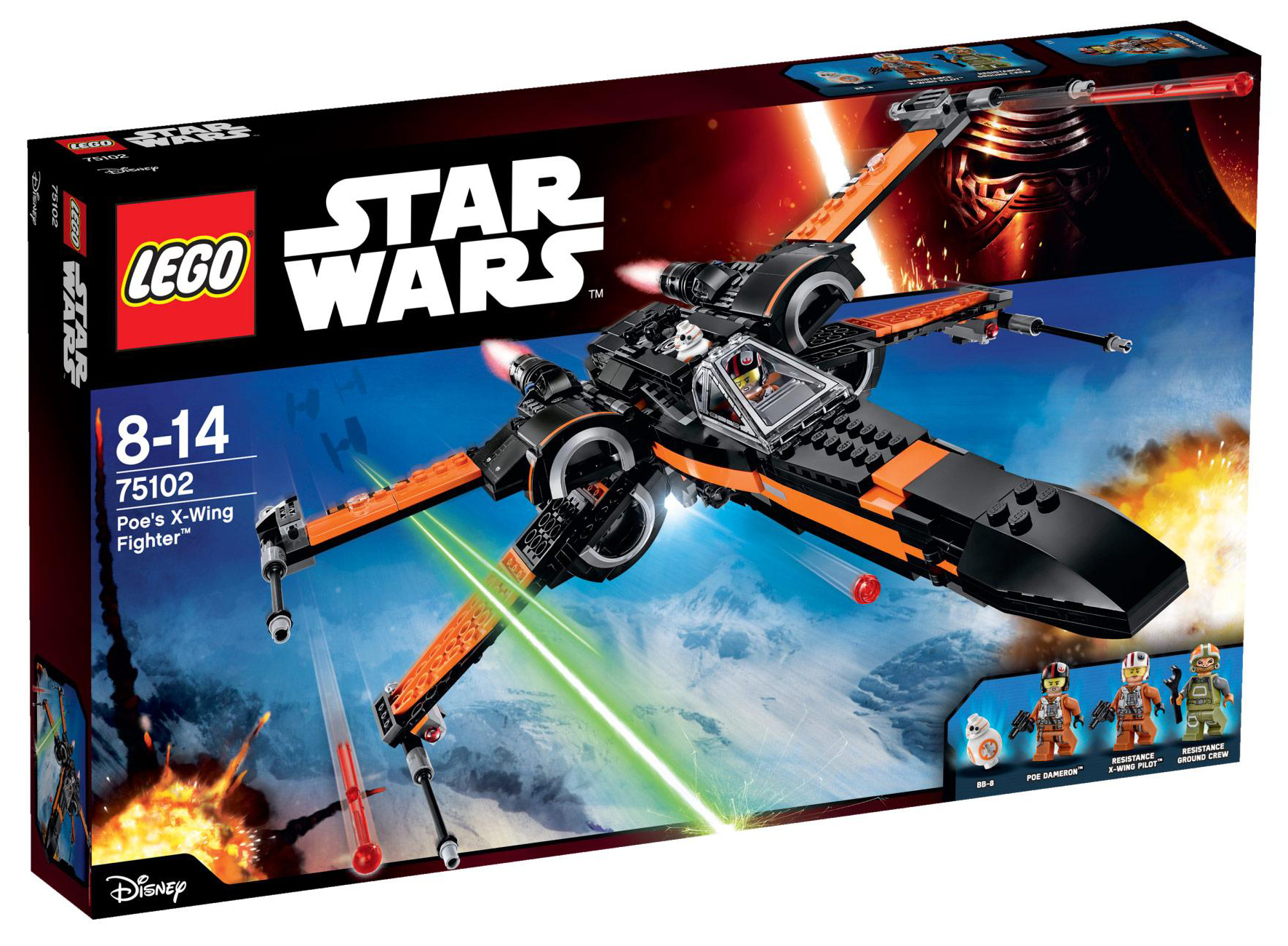 LEGO Star Wars 75102 - Le X-Wing Fighter de Poe