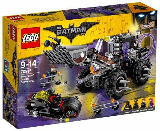 Nouveau LEGO The Batman Movie 70915 Two-Face Double Demolition Juin 2017