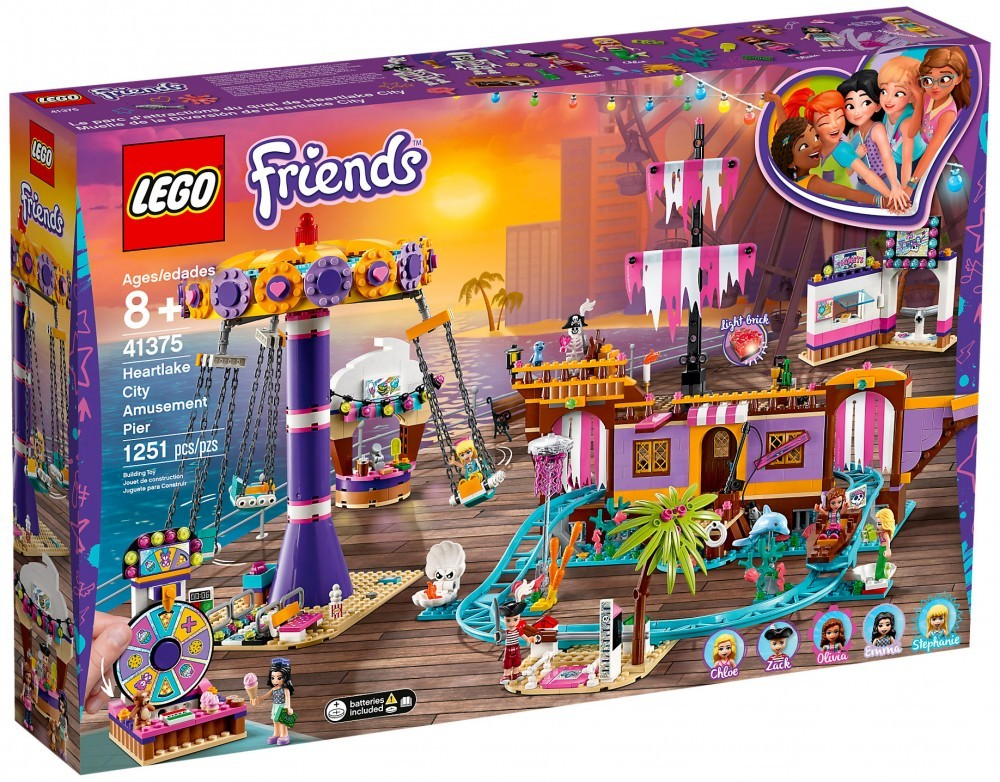 Nouveau LEGO Friends 41375 Le quai de Heartlake City - Juin 2019