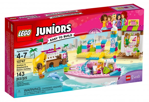 Nouveau LEGO Juniors 10747 Andrea & Stephanie's Beach Holiday 2017