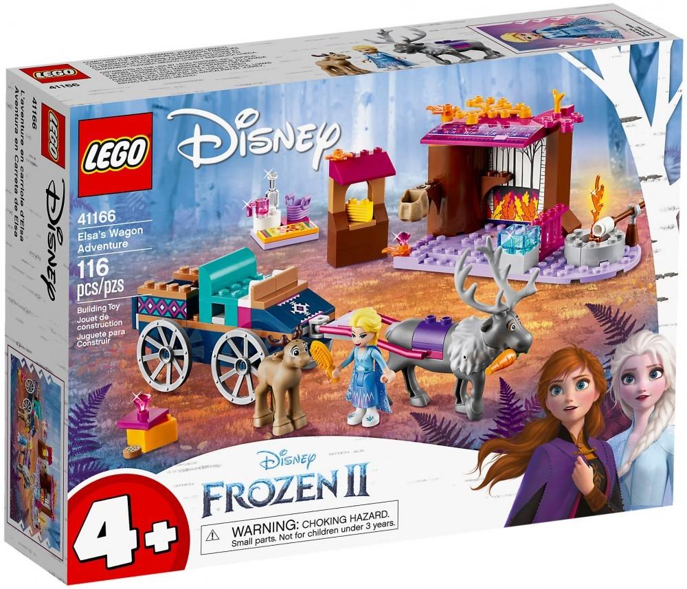 Nouveau LEGO Disney 41166 L'aventure en calèche d'Elsa
