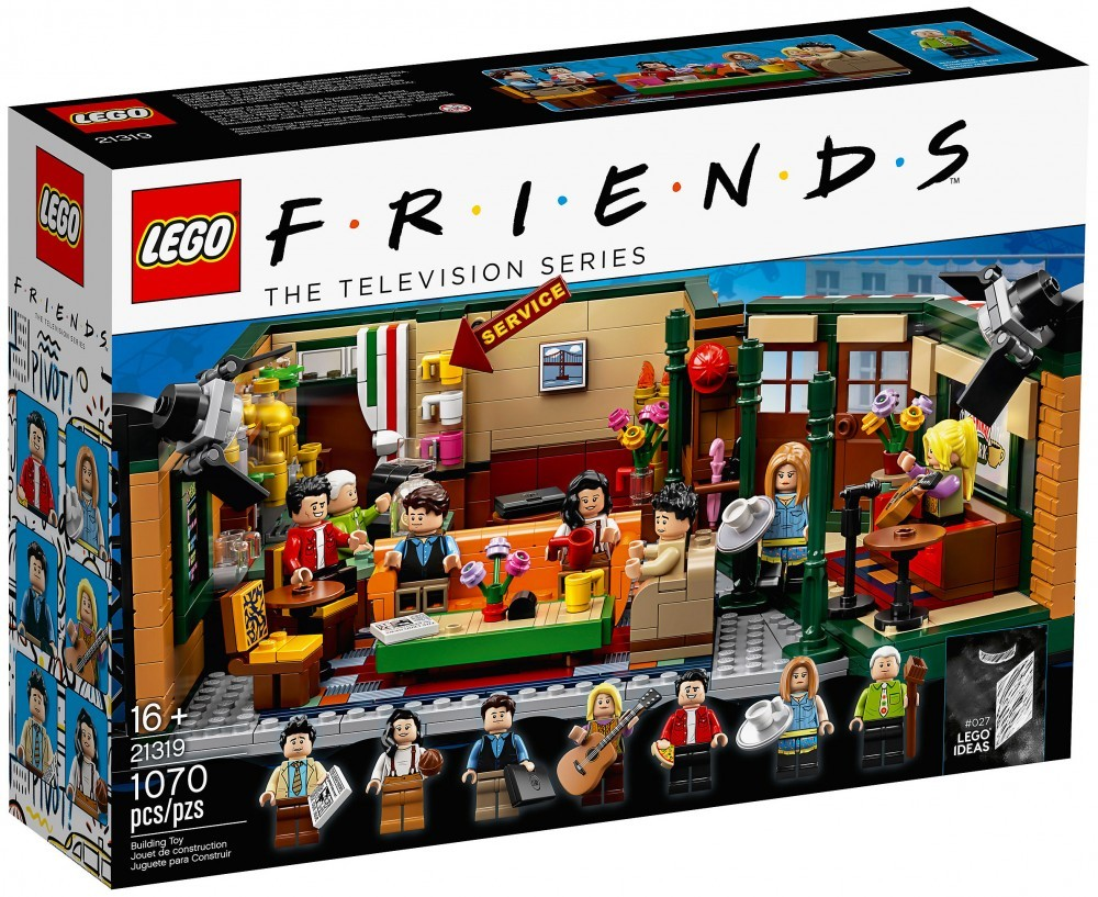 Nouveau LEGO Ideas 21319 Central Perk (Série TV Friends)