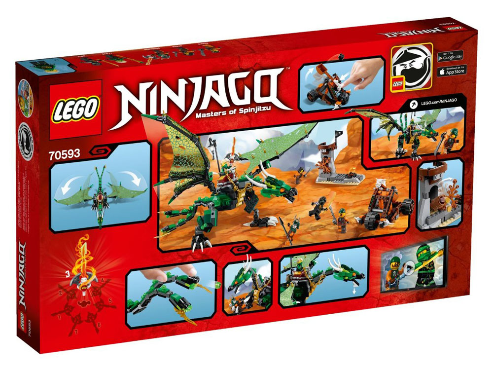 LEGO Ninjago 70593 - The Green NRG Dragon - Photo 2