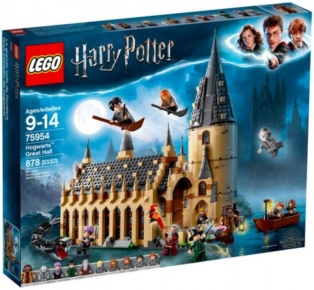Nouveau LEGO Harry Potter 75954 Hogwarts Great Hall 2018