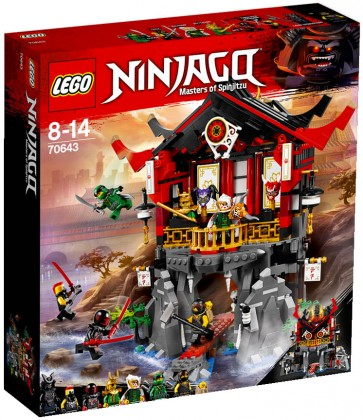 Nouveau LEGO Ninjago 70643 Temple of Resurrection 2018