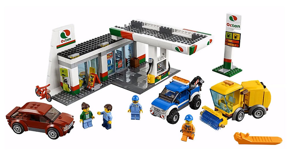 LEGO City La Station Service - 60132 - Photo 2