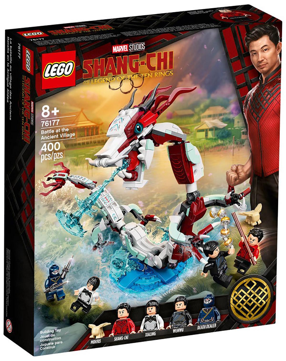 LEGO Marvel 76177 Shang-Chi : Bataille au Village des Anciens // Août 2021