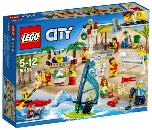 Nouveau LEGO City 60153 People Pack Fun at the Beach Juin 2017