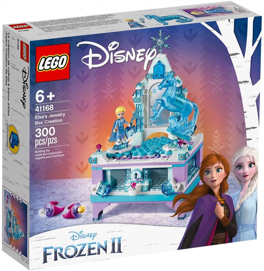 Nouveau LEGO Disney 41168 La boîte à bijoux d'Elsa