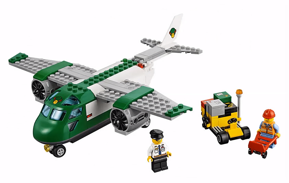 LEGO City Airport Cargo Plane - 60101 - Photo 2