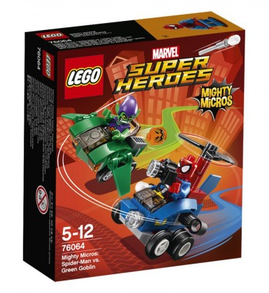 LEGO Marvel 76064 - Spiderman contre le Bouffon Vert