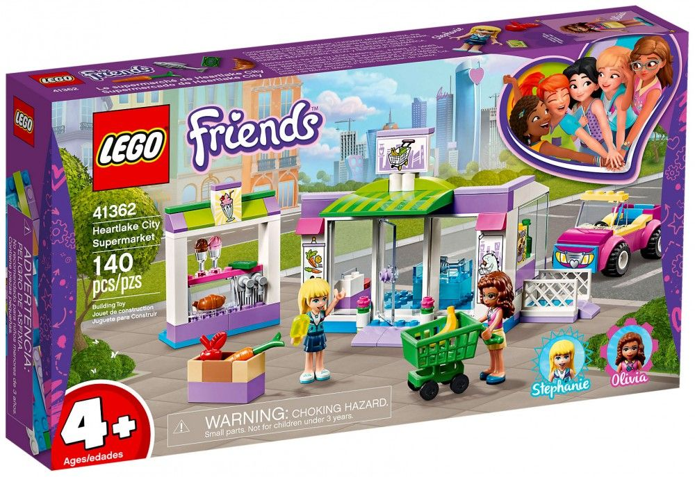 Nouveau LEGO Friends 41362 Le supermarché de Heartlake City - Juin 2019