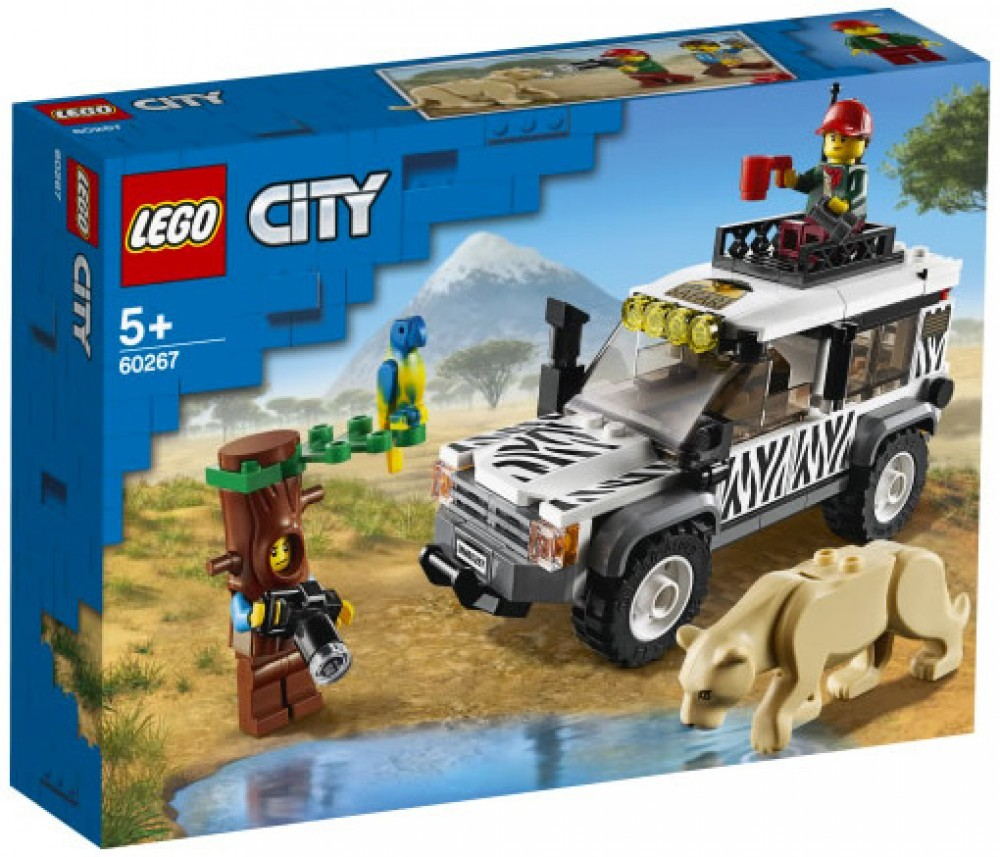 Nouveau LEGO City 60267 Safari Adventure // Janvier 2020