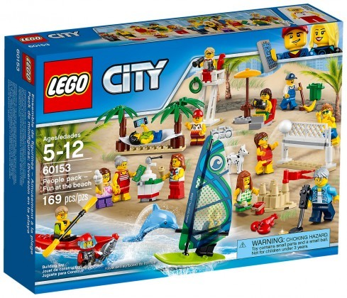 Nouveau LEGO City 60153 Ensemble de figurines la plage Juin 2017