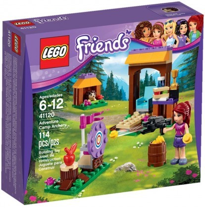 LEGO Friends 41120 - Tir à l'arc à la base d'aventure