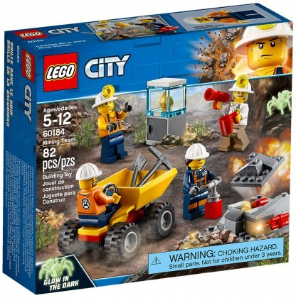 Nouveau LEGO City 60184 Mining Team 2018