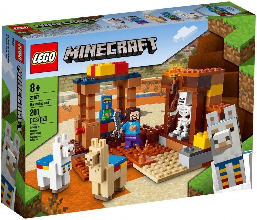 Nouveau LEGO Minecraft 21167 The Trading Post // Janvier 2021