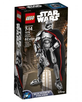 LEGO Star Wars 75118 - Capitaine Phasma