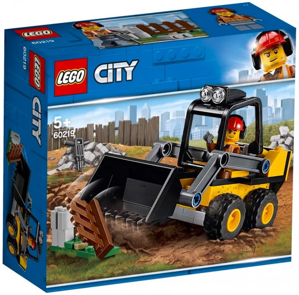 Nouveau LEGO City 60219 Construction Loader 2019