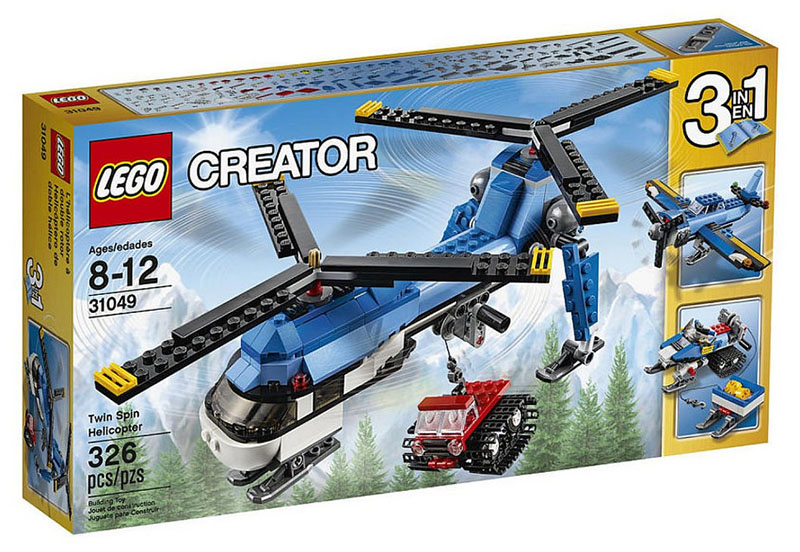 LEGO City Dual Rotor Helicopter - 31049 - Photo 1