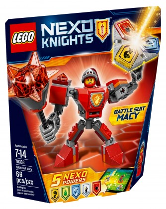 Nouveau LEGO Nexo Knights 70363 Battle Suit Macy