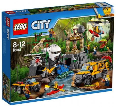 Nouveau LEGO City 60161 Jungle Exploration Site Juin 2017